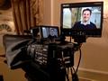 Sony FS700 interview setup