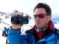 Ski filming with Sony NX30