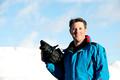 Ski filmingin Slomo with FS700