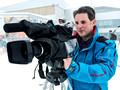 Ski filming in Austria
