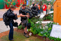 Chelsea Flower Show with Digibeta on EFP Steadciam
