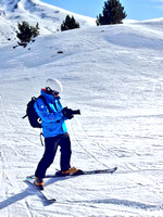 Ski filming in Andorra